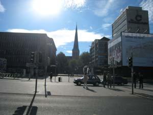 Dortmund from the Hauptbahnhof