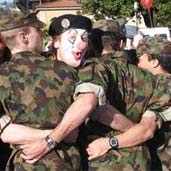 Miltary clown